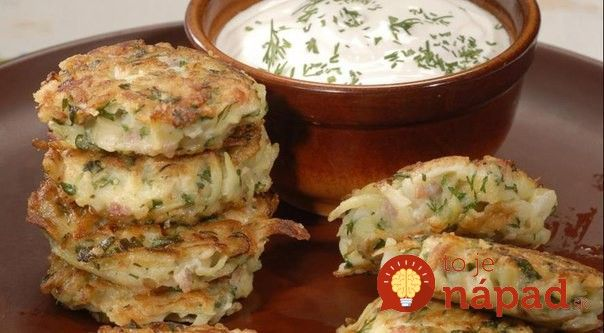 Vyskúšajte zemiakové placky  trochu inak - so šunkou a syrom. #tojenapad #recept #recipe #potatopancakes #potatoes #zemiaky #placky