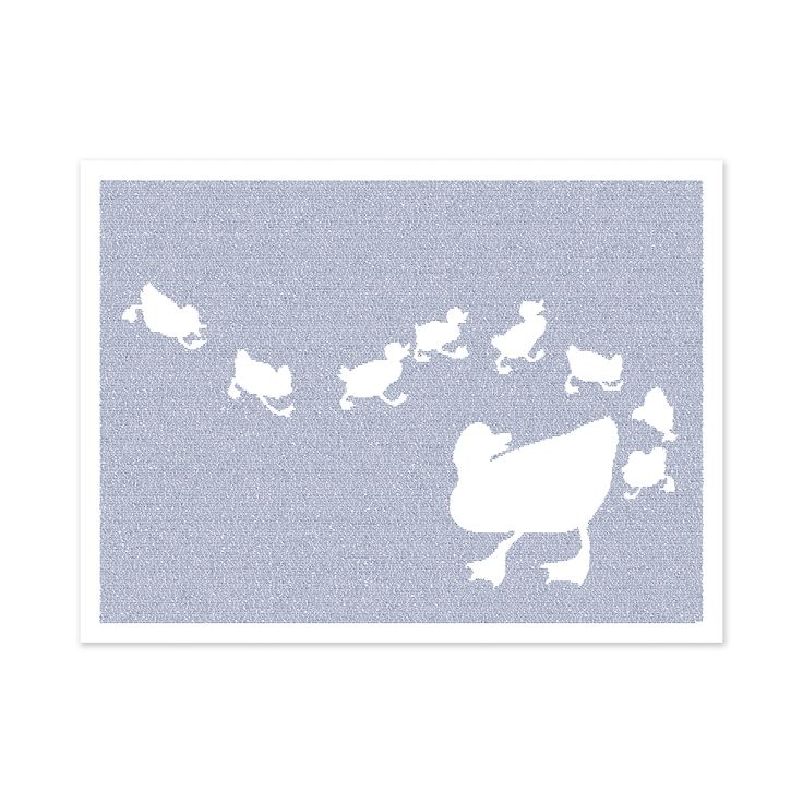 Make Way For Ducklings Lithograph