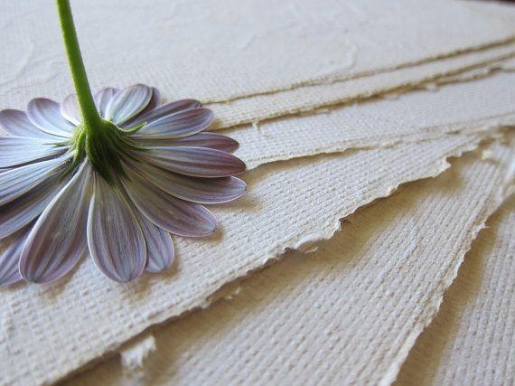 Flower petal paper Beautiful Handmade by marigoldmountain on Etsy