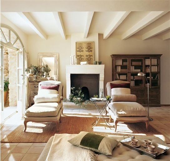 Wall Color?  Ceiling Beams?