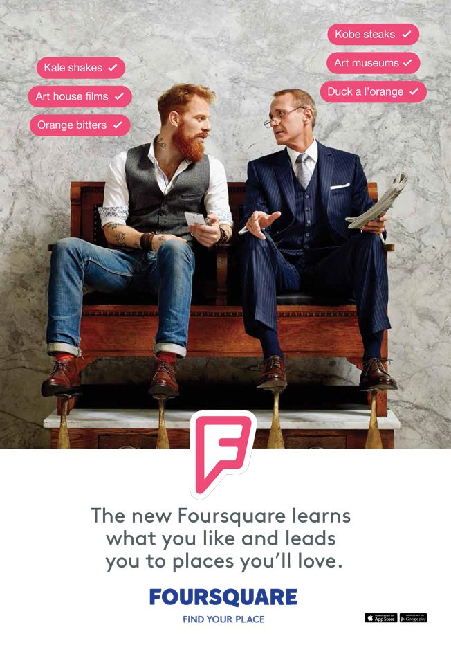 What's Wrong with Foursquare's Brand New Advertising Campaign?  #socialmedia #lbm #marketing #digitalmarketing