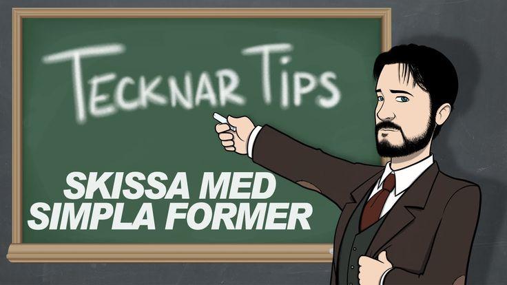 Tecknar Tips - Skissa Med Simpla Former