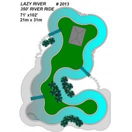 2013 Lazy River Pool Plan