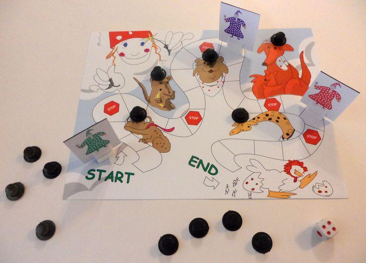 Magic Hat Board Game