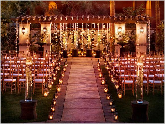 Outside Wedding Ceremony Decorations: 1000+ Ideas About Outdoor Wedding Aisles On Pinterest
