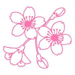 Silhouette Design Store - View Design #131927: cherry blossom flower filigree