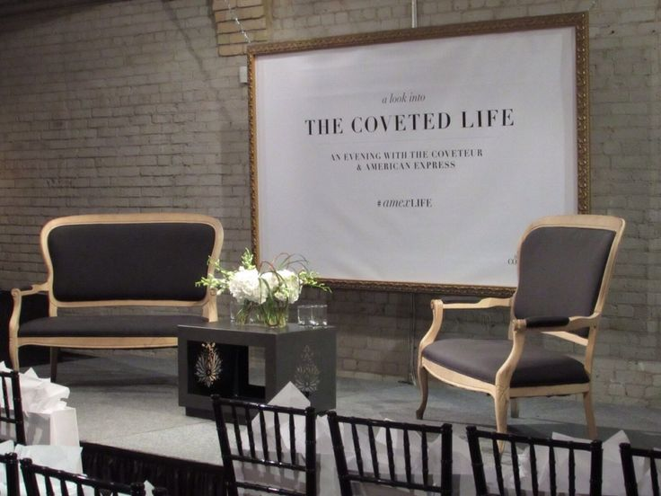 The Coveted Life - An Evening with the Coveteur & American Express