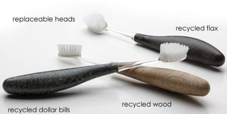 Radius New Toothbrush Design Let's You Handle The Money Every Day : TreeHugger