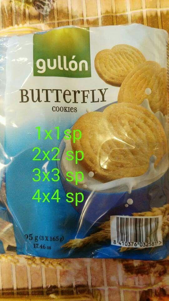 Galletas Butterfly de Gullon
