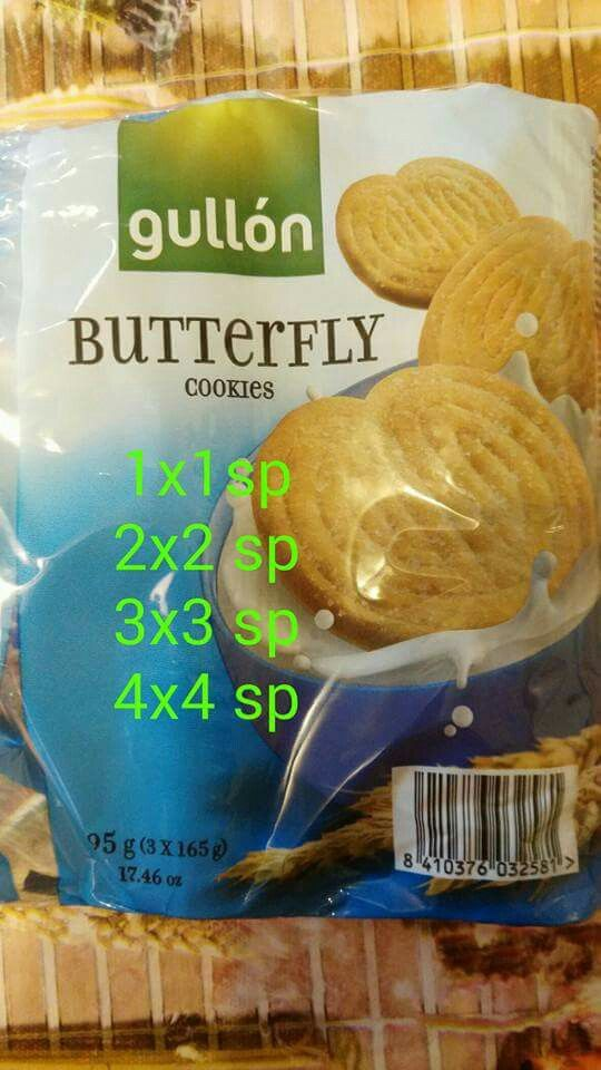 Galletas Butterfly de Gullon