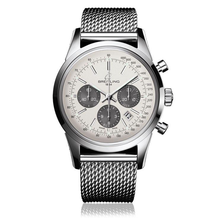 Breitling Transocean Chronograph Watch