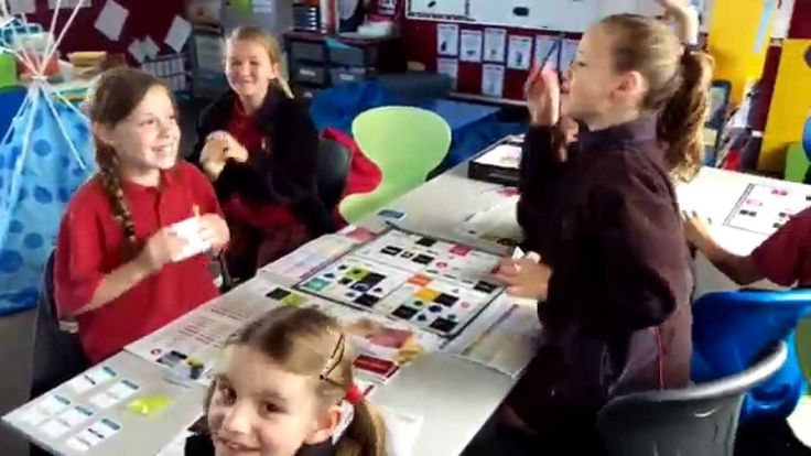 The Gardens School playing Market Share Business Board Game