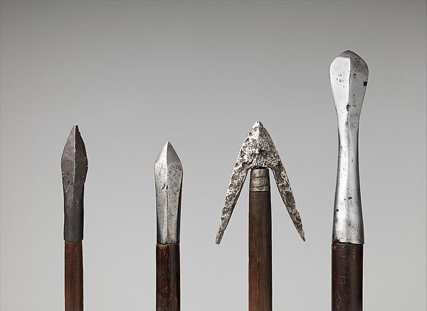 Twelve Crossbow Bolts   Western or Central European; j, possibly Switzerland   The Metropolitan Museum of Art