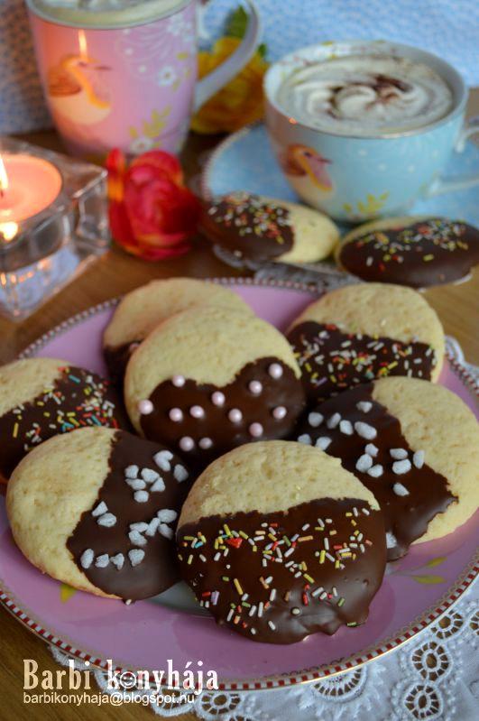 Vaníliás omlós keksz