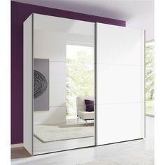 Armoire penderie moderne de 2 à 3 portes coulissantes miroir prix Armoire 3 Suisses 614.99 €