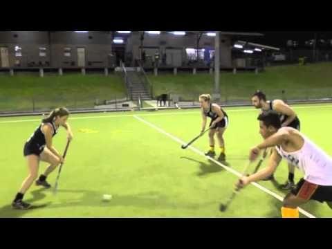 Ryde Hockey Skills & Drills: Receiving & Footwork - YouTube