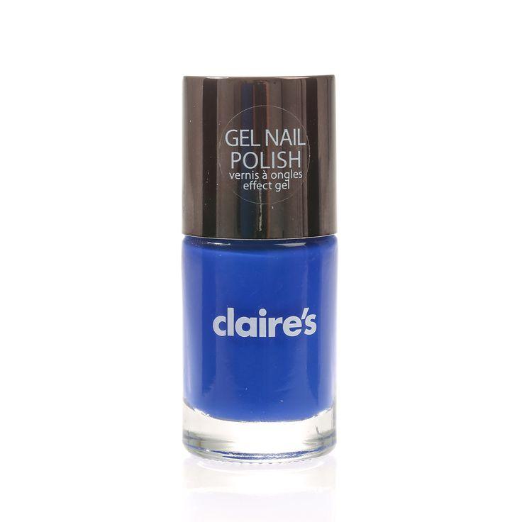 Blue Gel Nail Polish - Claire's