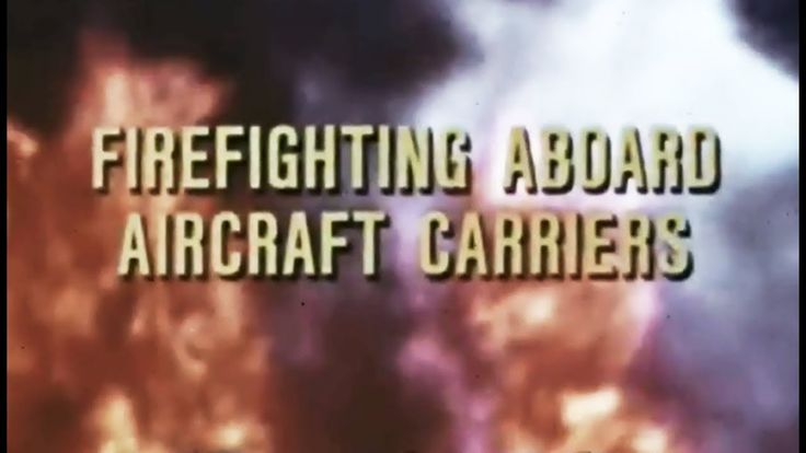 #Firefighting Aboard Aircraft Carriers: Fighting Hangar Deck Fires 1969 US Navy Training Film https://www.youtube.com/watch?v=7iOtCSkn--M #USNavy #Carrier