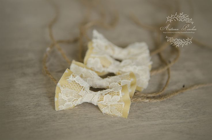Yellow Bow by Autumn Peaches for sale on http://hellopretty.co.za