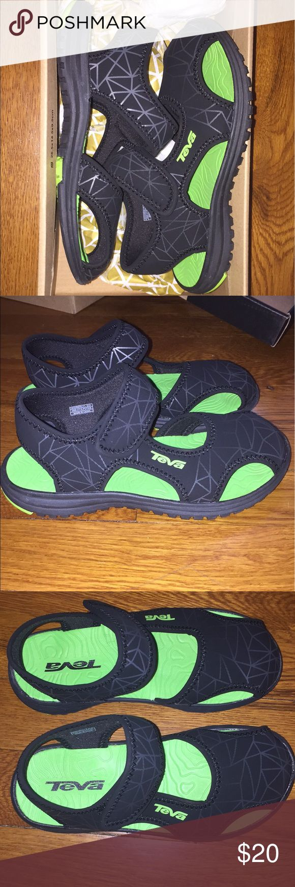 Youth Teva Brand new, never worn!! Teva Shoes Water Shoes