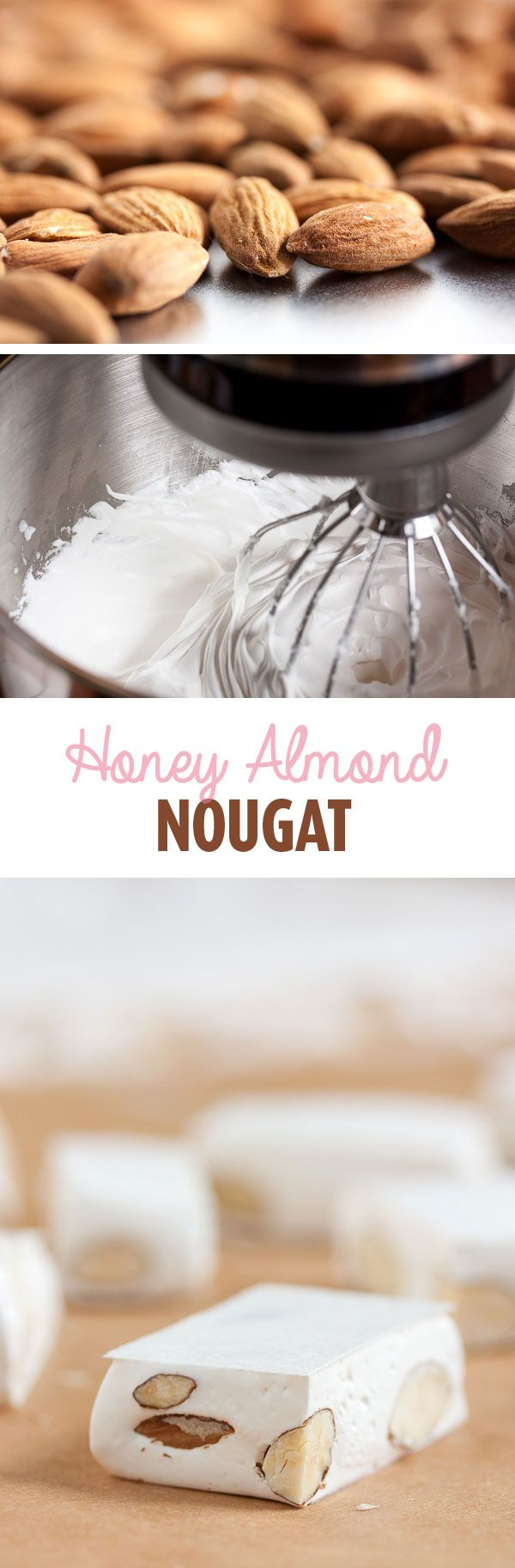 how to make almond nougat candy