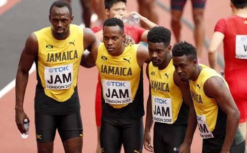 Team Jamaica all day everyday 🇯🇲. Usain Bolt, August 2017
