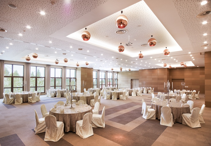 Wedding setup Ana Ballroom at the Sport Hotel & Spa