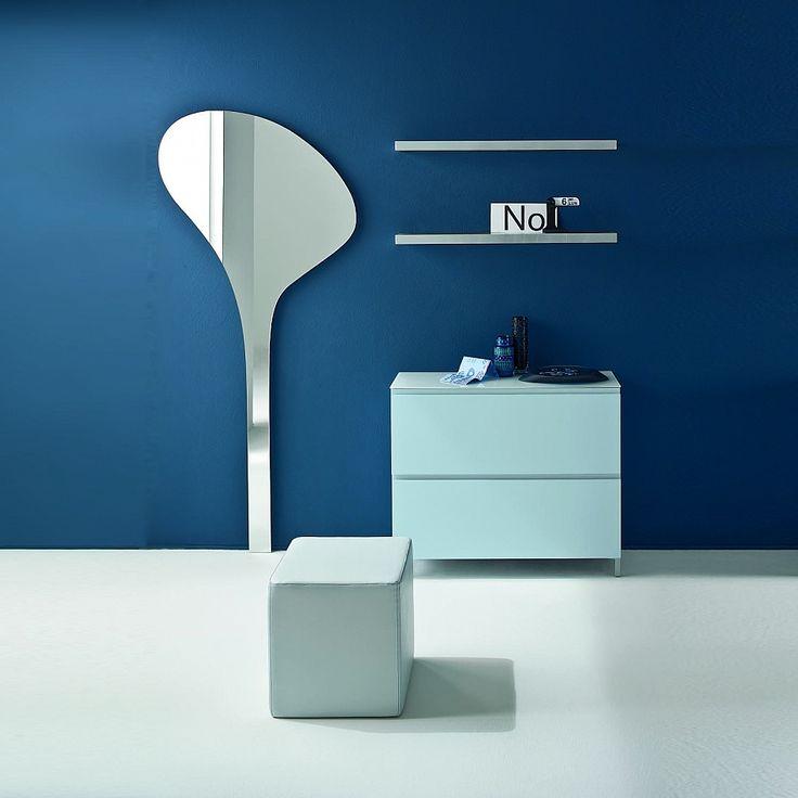 Modern entryway furniture set with mirror Jazz by Birex