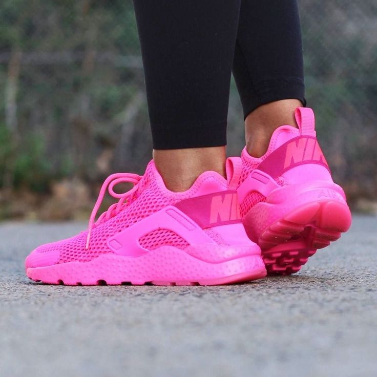Do you love everything pink? So do we!Stand out from the crowd in the Nike Air Huarache Run Ultra Breathable Sneaker in Pink Blast available now at Stylerunner.com #stylerunner #stylesquad by stylerunner