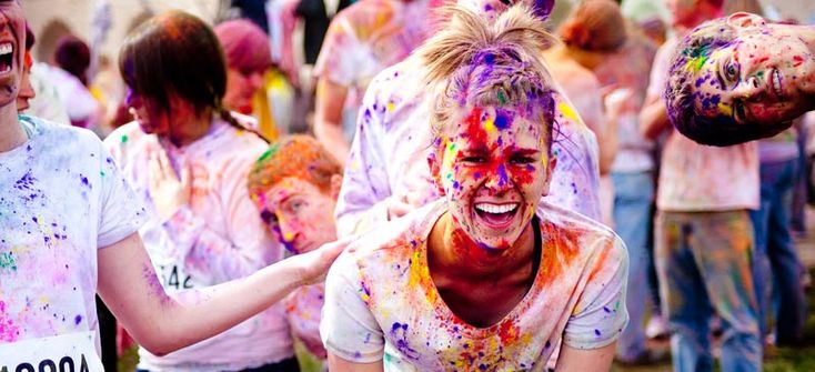 The Color Run - the world's most colourful race INDIA? #Cheapflights2013