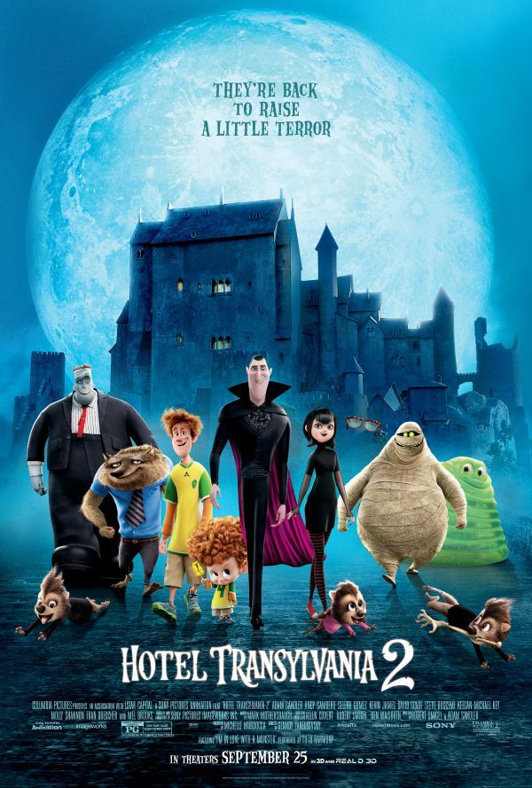 I just love Halloween movies! I don't want anything that's too scary, but a family friendly Halloween movie like Hotel Transylvania 2 is just perfect! ad