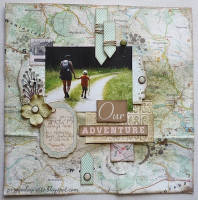 Our adventure - LO with map