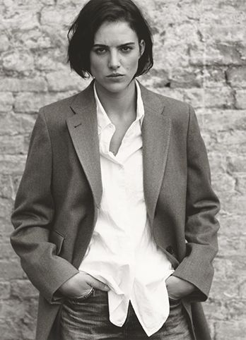 MARGARET HOWELL - AW13 CAMPAIGN tomboy style, blazer #minimalist #fashion #style