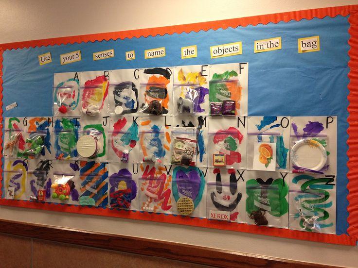 Classroom Decoration Bulletin Boards ~ Senses bulletin board boards pinterest