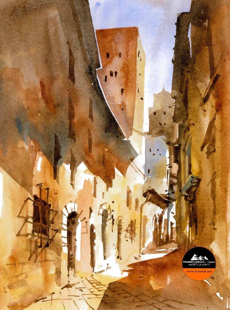 Italia. autor Aleksander Zalewski Horyzont