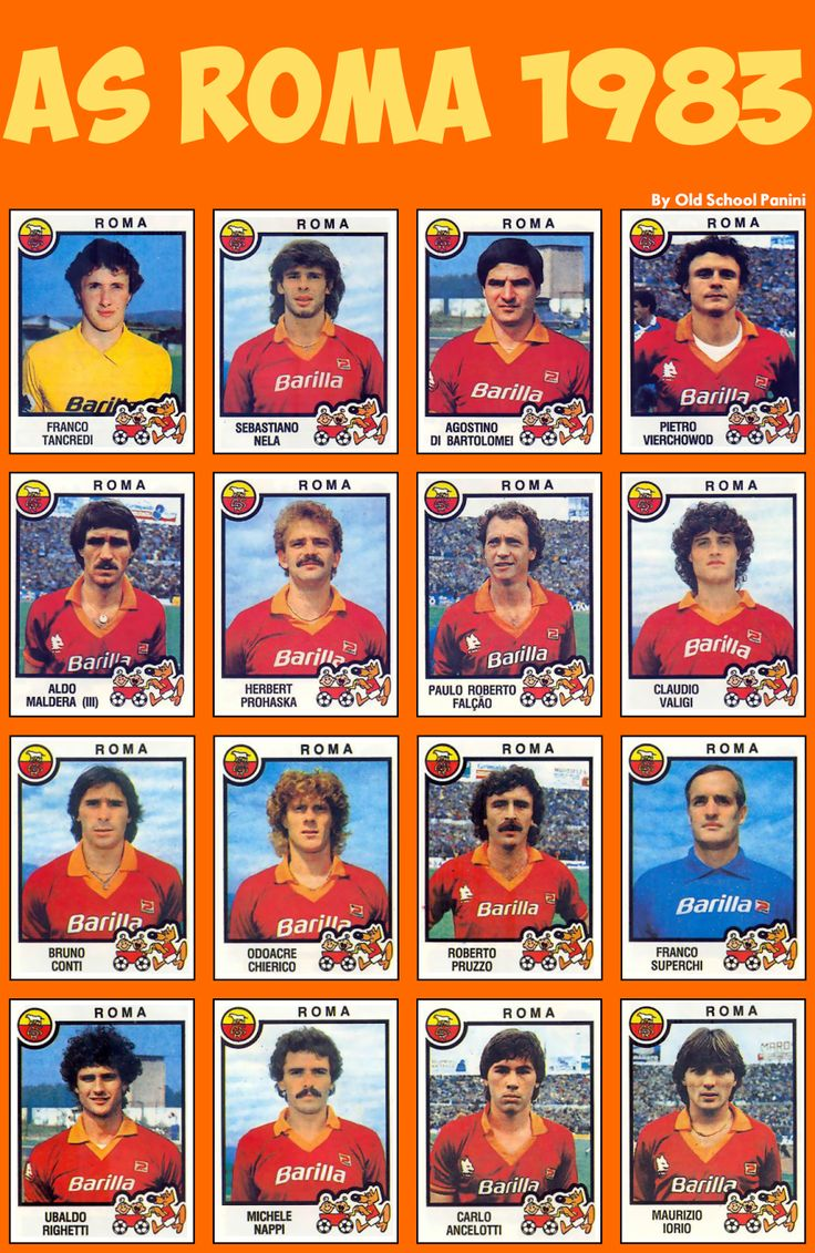 AS Roma 1983.