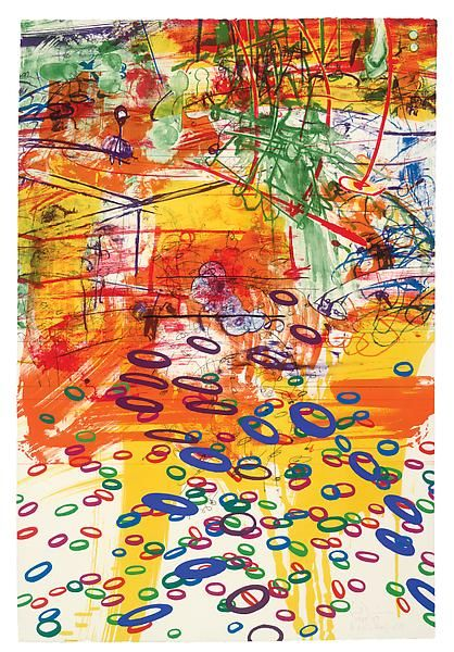 A7 Full Spectrum 1985 - 87 Lithograph and screenprint on J.B. Green paper 41 3/4 x 28 inches Publisher: ULAE Edition: 68