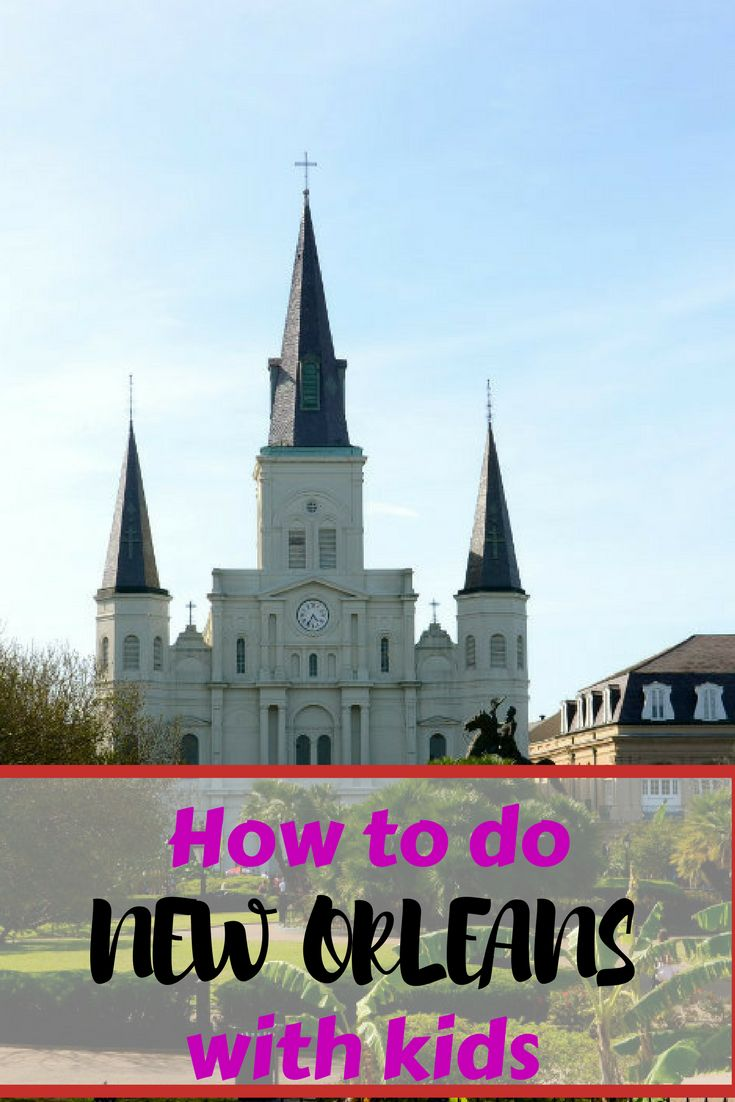 Think you can't take the kids to New Orleans? Think again. This vibrant city has so much to offer families, it proved to be one of our favorite family vacations. Here are our top things to see and do in New Orleans with kids.