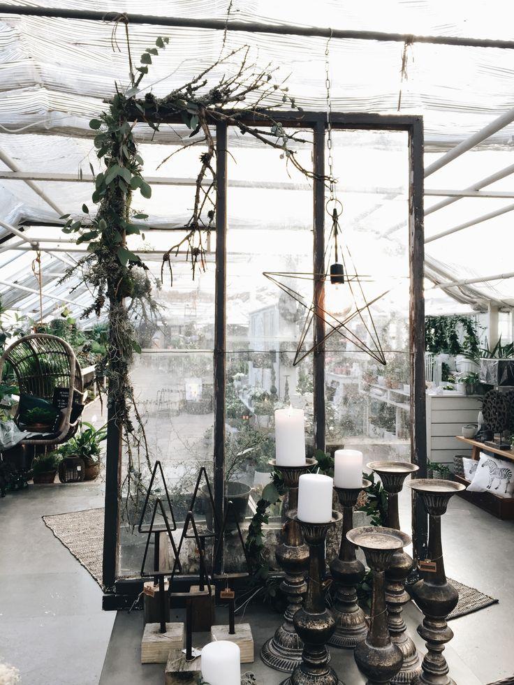 Naturlig juldekoration #ljungsträdgård / Natural Christmas decor