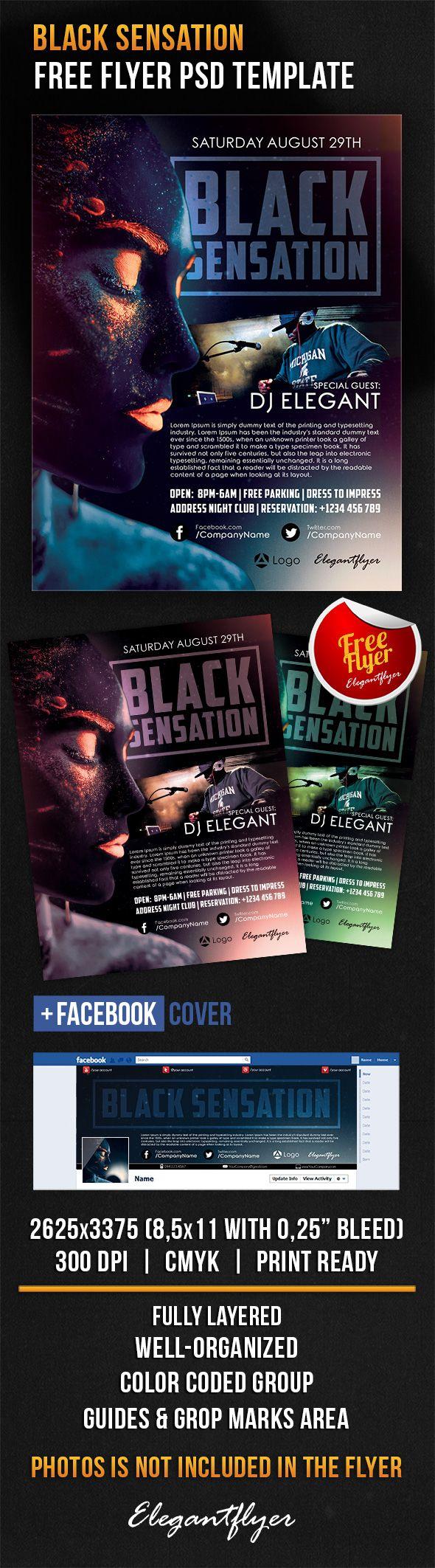 Black Sensation – Free Flyer PSD Template + Facebook Cover https://www.elegantflyer.com/free-flyers/free-club-flyer-templates/black-sensation-free-flyer-psd-template-facebook-cover/