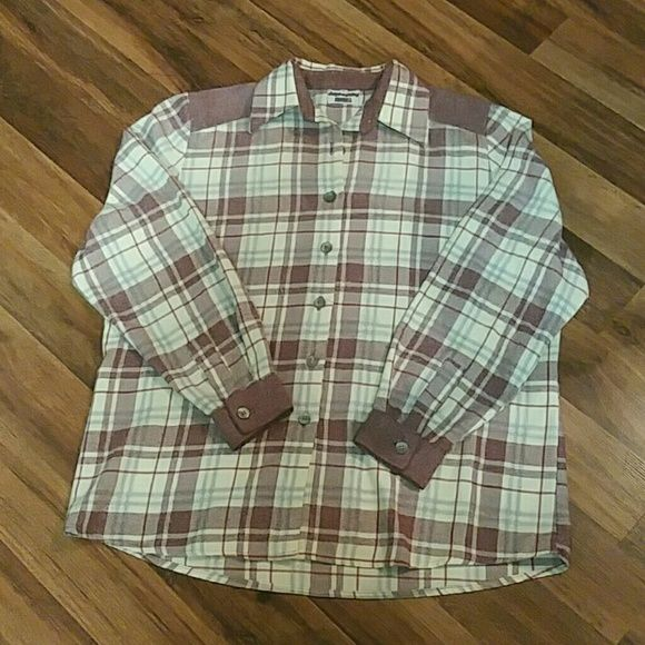LNC LADIES FLANNEL SHIRT LARGE Women's flannel shirt in new condition, only worn once. Size large Tops Button Down Shirts