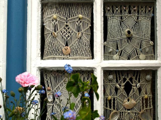 17 meilleures id es propos de rideaux de fen tre - Macrame rideau cuisine ...