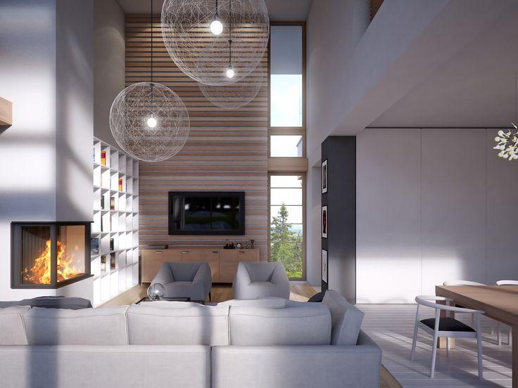 #salon #projektowanie #design #wnętrza #architekci #LKProjekt #projekt LK&1253