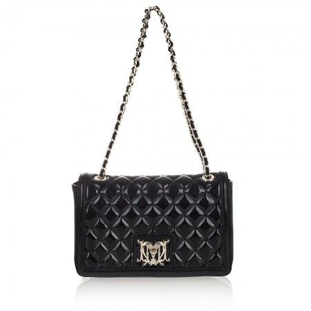 LOVE MOSCHINO WOMAN SHOULDER BAG JC4013 BLACK NEW 2014 F/W COLLECTION  209$