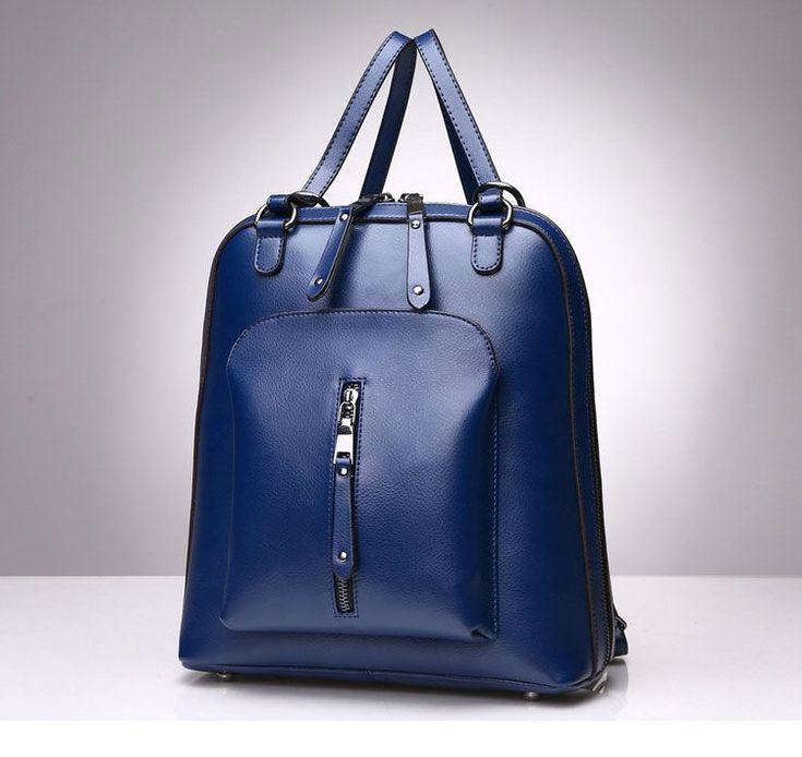 ZZM Venta de mochilas de cuero de moda para la Universidad mochila escolares economicas mujer online [SD91035] - €62.70 : bzbolsos.com, comprar bolsos online #luxurymujer