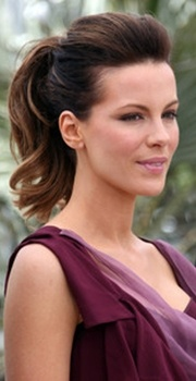 017 kate beckinsale textured ponytail hairstyle: High Ponytails, To Katebeckinsal, Bridesmaid Hair, Kate Beckinsale, Hair Style, Fashion Trends, Ponytail Hairstyles, High Ponies, Summer Hairstyles