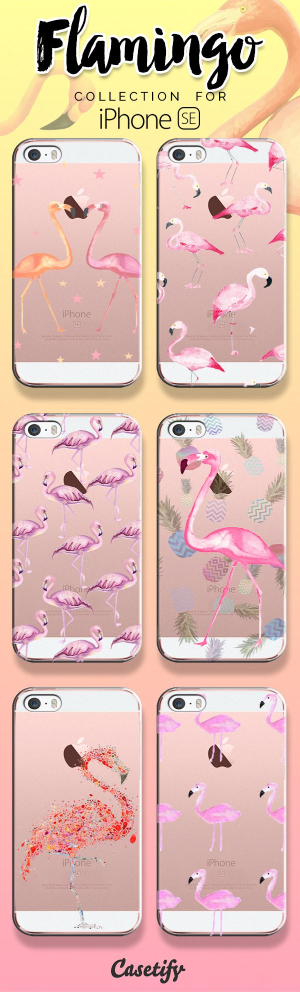 Be a flamingo in a flock of pigeons! Shop our flamingo collection now! https://www.casetify.com/search?keyword=flamingo | @casetify