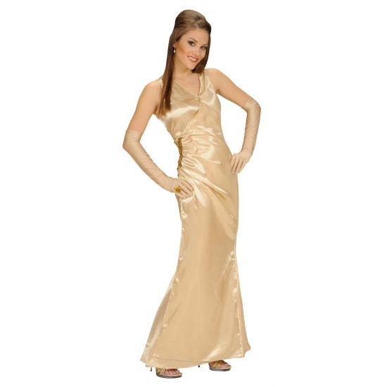 Gouden gala jurk voor dames  Gouden jurk voor dames. Lange gouden feest jurk voor dames. Voor gouden accessoires kijk bij ons op de website.  EUR 34.95  Meer informatie