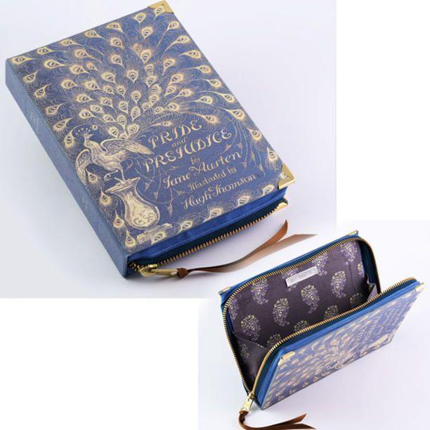 EtsyJane Austen's Pride and Prejudice Zip Clutch