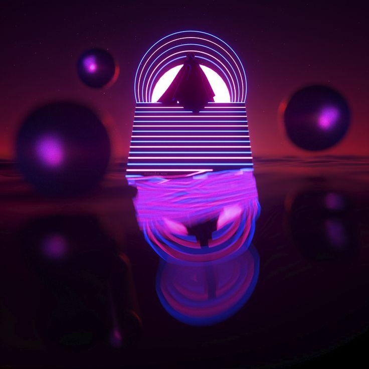 Bright Future • • • • • #myartisreal #render #cinema4d #c4d #3dart #cgi #surrealism #surrealart #aesthetic #visualart #concept #creative #octane #octanerender #graphic #xuxoe #surreal42 #cyberpunk #retrowave #digitalartwork #scifi #neon #vaporwave #cyberpunkaesthetic #scifiworld #synthwave #psychedelic #inspiration #glow